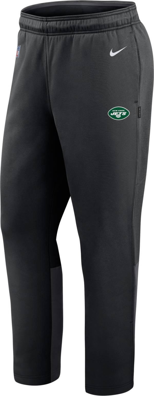 Nike Men's New York Jets Sideline Logo Black Woven Pants product image