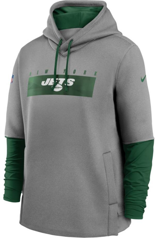 Nike Men's New York Jets Sideline Therma-FIT Heavy Hoodie product image