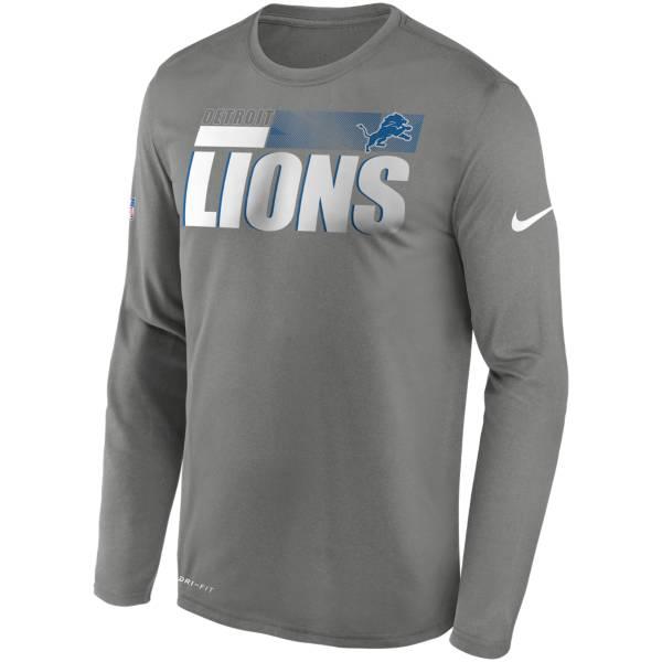 Nike Men's Detroit Lions Sideline Long Sleeve T-Shirt product image