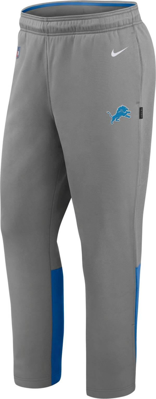Nike Men's Detroit Lions Sideline Logo Grey Woven Pants product image