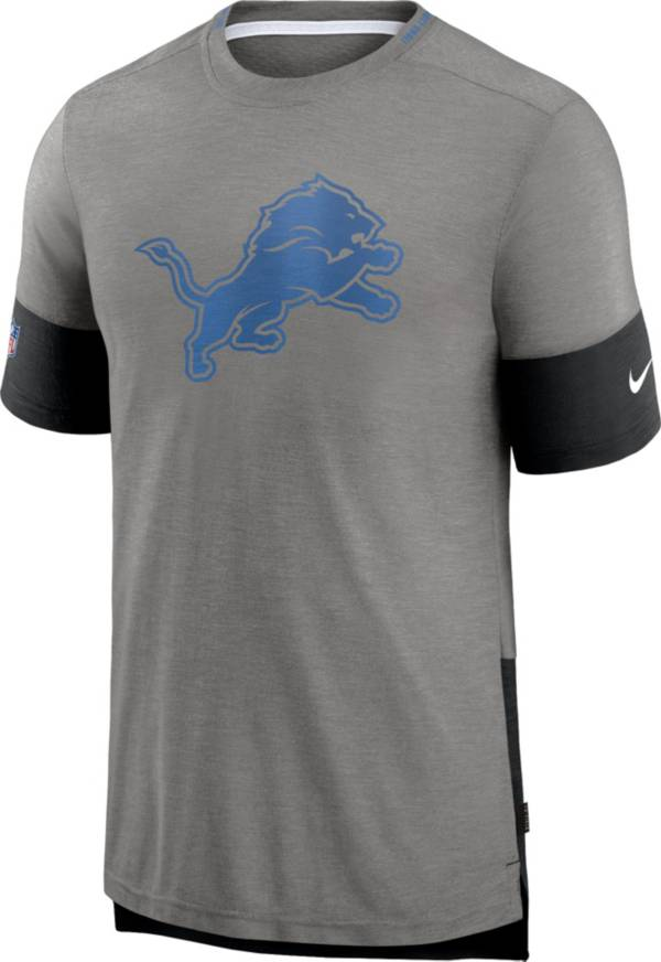 Nike Men's Detroit Lions Grey Sideline Player T-Shirt product image