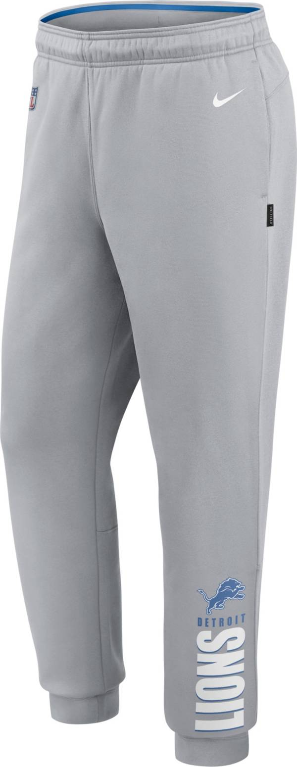 Nike Men's Detroit Lions Sideline Therma-FIT Performance Grey Pants product image