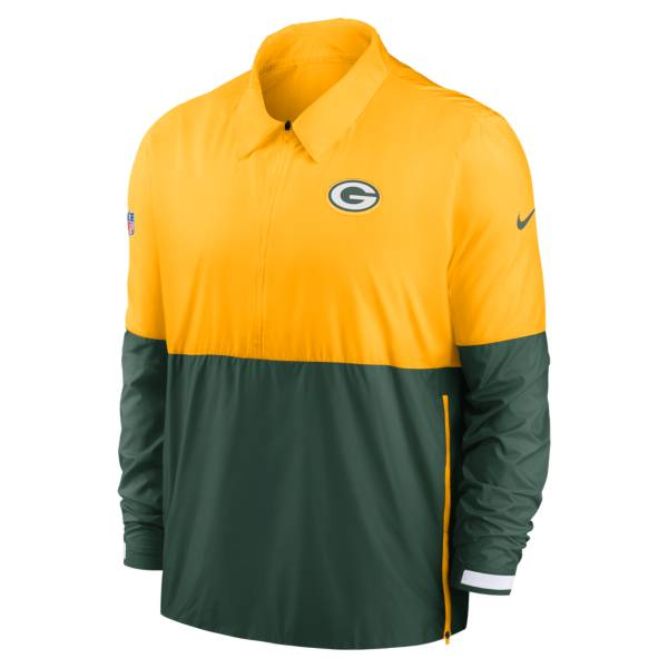 Nike Men's Green Bay Packers Sideline Dri-Fit Coach Jacket product image