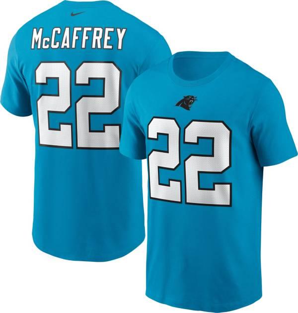 Nike Men's Carolina Panthers Christian McCaffrey #22 Legend Blue T-Shirt product image