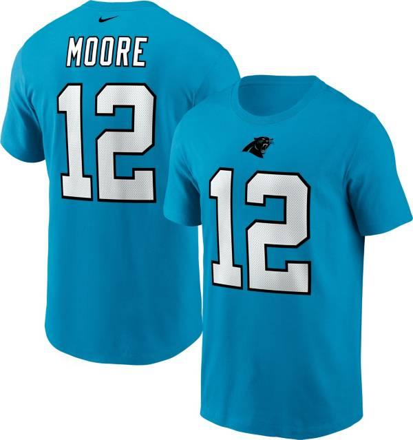 Nike Men's Carolina Panthers Legend DJ Moore #12 Blue T-Shirt product image