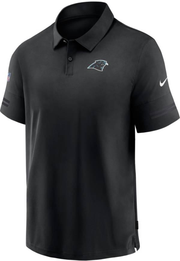 Nike Men's Carolina Panthers Coaches Sideline Black Polo product image