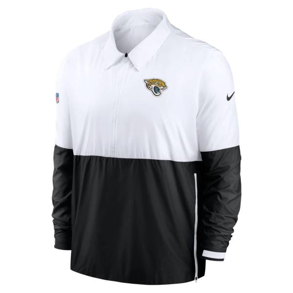 Nike Men's Carolina Panthers Sideline Dri-Fit Coach Jacket product image