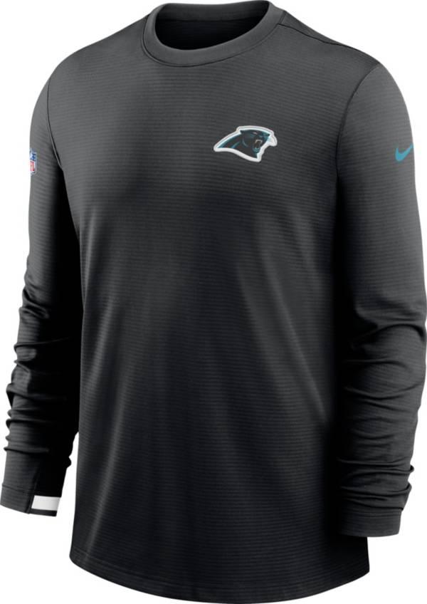 Nike Men's Carolina Panthers Sideline Dri-Fit Long Sleeve T-Shirt product image