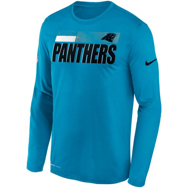 Nike Men's Carolina Panthers Sideline Coach Long-Sleeve T-Shirt product image