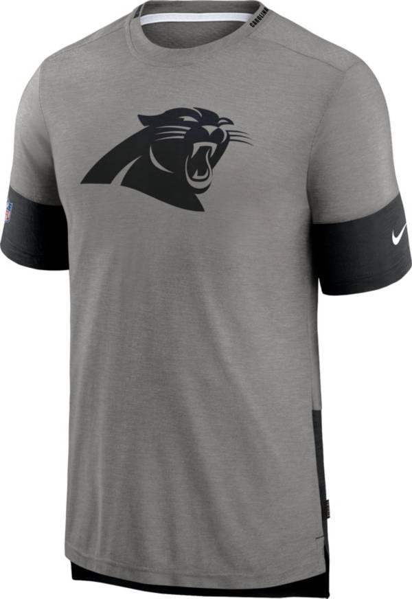 Nike Men's Carolina Panthers Grey Sideline Player T-Shirt product image