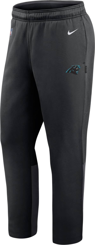 Nike Men's Carolina Panthers Sideline Logo Black Woven Pants product image