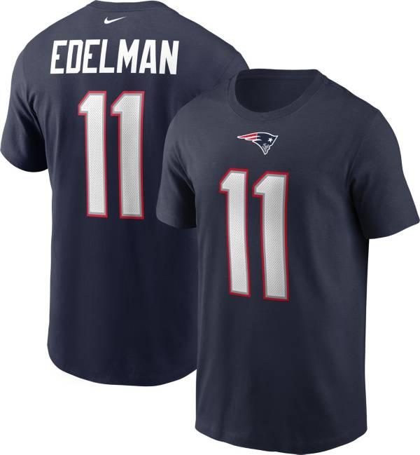 Nike Men's New England Patriots Legend Julian Edelman #11 Navy T-Shirt product image