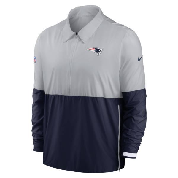 Nike Men's New England Patriots Sideline Dri-Fit Coach Jacket product image