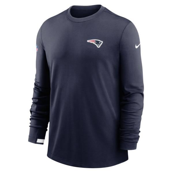 Nike Men's New England Patriots Sideline Dri-Fit Long Sleeve T-Shirt product image