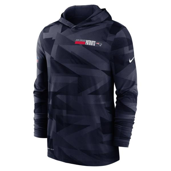 Nike Men's New England Patriots Sideline Dri-Fit Hoodie product image