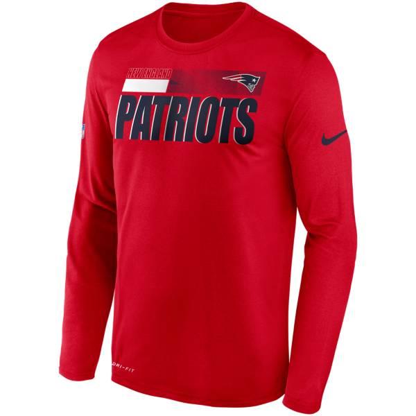Nike Men's New England Patriots Sideline Coach Long-Sleeve T-Shirt product image