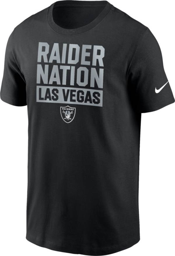 Nike Men's Las Vegas Raiders Raider Nation Black T-Shirt product image