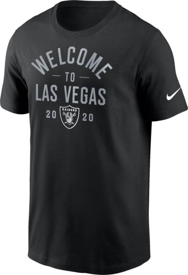 Nike Men's Las Vegas Raiders Welcome Black T-Shirt