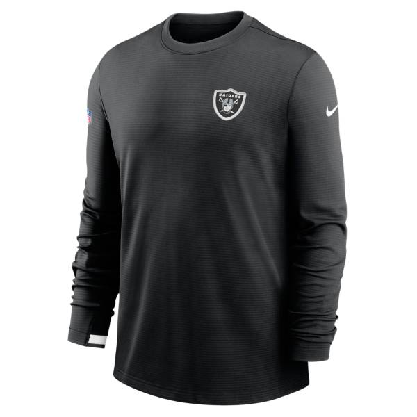 Nike Men's Las Vegas Raiders Sideline Dr-Fit Crew neck Black T-Shirt product image