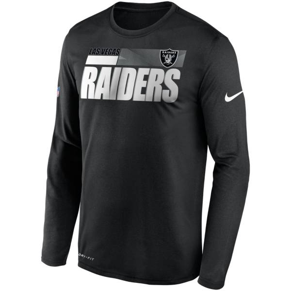 Nike Men's Las Vegas Raiders Sideline Coach Long-Sleeve T-Shirt product image