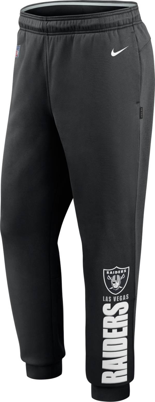 Nike Men's Las Vegas Raiders Sideline Therma-FIT Performance Black Pants product image