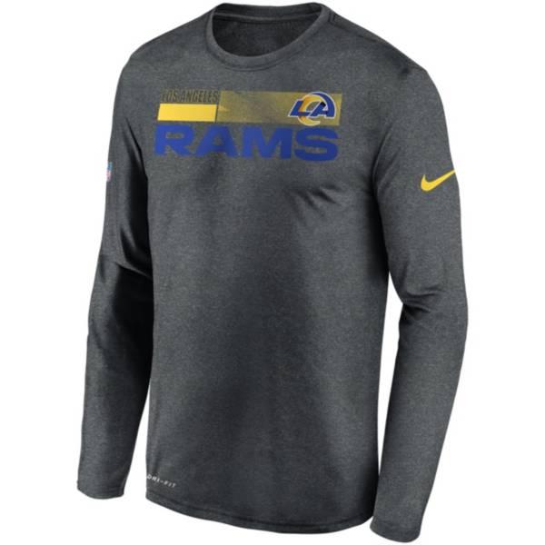 Nike Men's Los Angeles Rams Sideline Coach Long-Sleeve T-Shirt product image