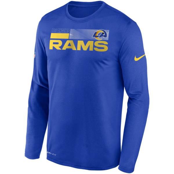 Nike Men's Los Angeles Rams Sideline Long Sleeve T-Shirt product image