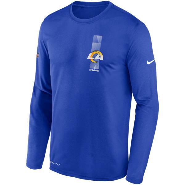Nike Men's Los Angeles Rams Sideline Legend Travel Long Sleeve T-Shirt product image