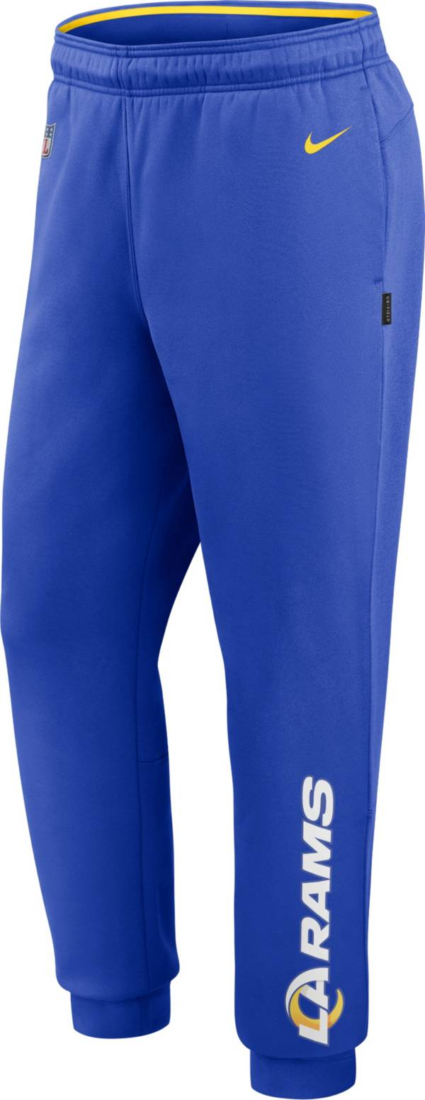 Nike Men's Los Angeles Rams Sideline Therma-FIT Performance Royal Pants product image
