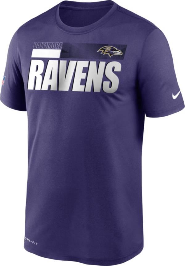 Nike Men's Baltimore Ravens Legend Performance Purple T-Shirt product image