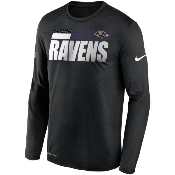 Nike Men's Baltimore Ravens Sideline Long Sleeve T-Shirt product image