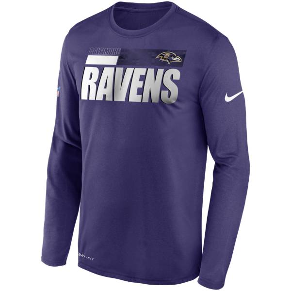 Nike Men's Baltimore Ravens Sideline Coach Long-Sleeve T-Shirt product image