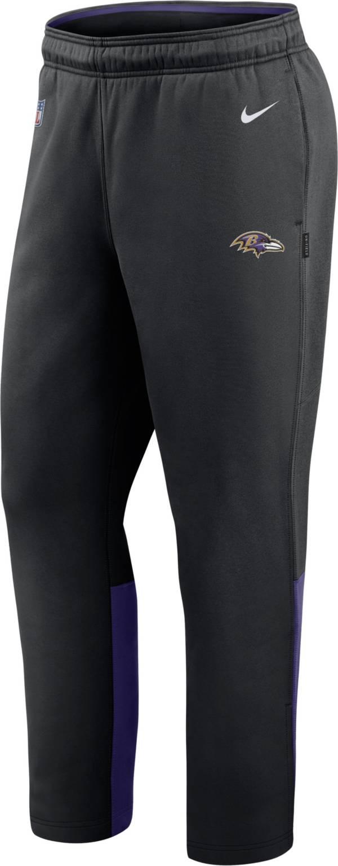 Nike Men's Baltimore Ravens Sideline Logo Black Woven Pants product image