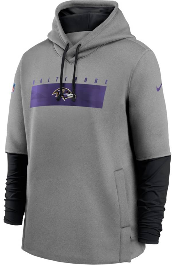 Nike Men's Baltimore Ravens Sideline Therma-FIT Heavy Hoodie product image