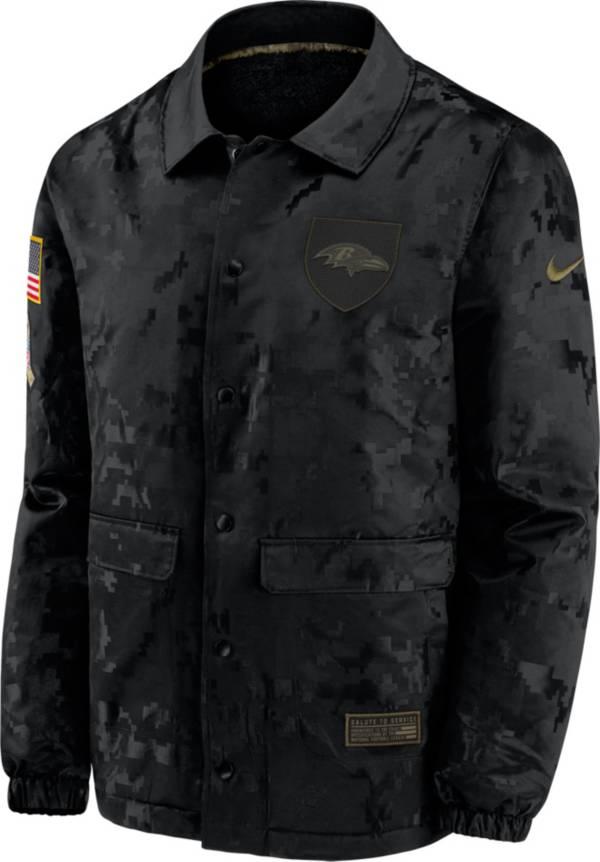 Nike Men's Salute to Service Baltimore Ravens Black Jacket product image