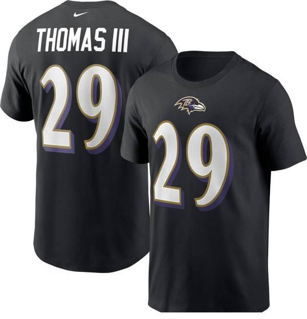 Nike Men's Baltimore Ravens Earl Thomas #29 Legend Black T-Shirt product image