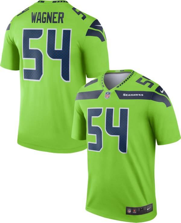 Nike Men's Seattle Seahawks Bobby Wagner #54 Turbo Green Legend Jersey