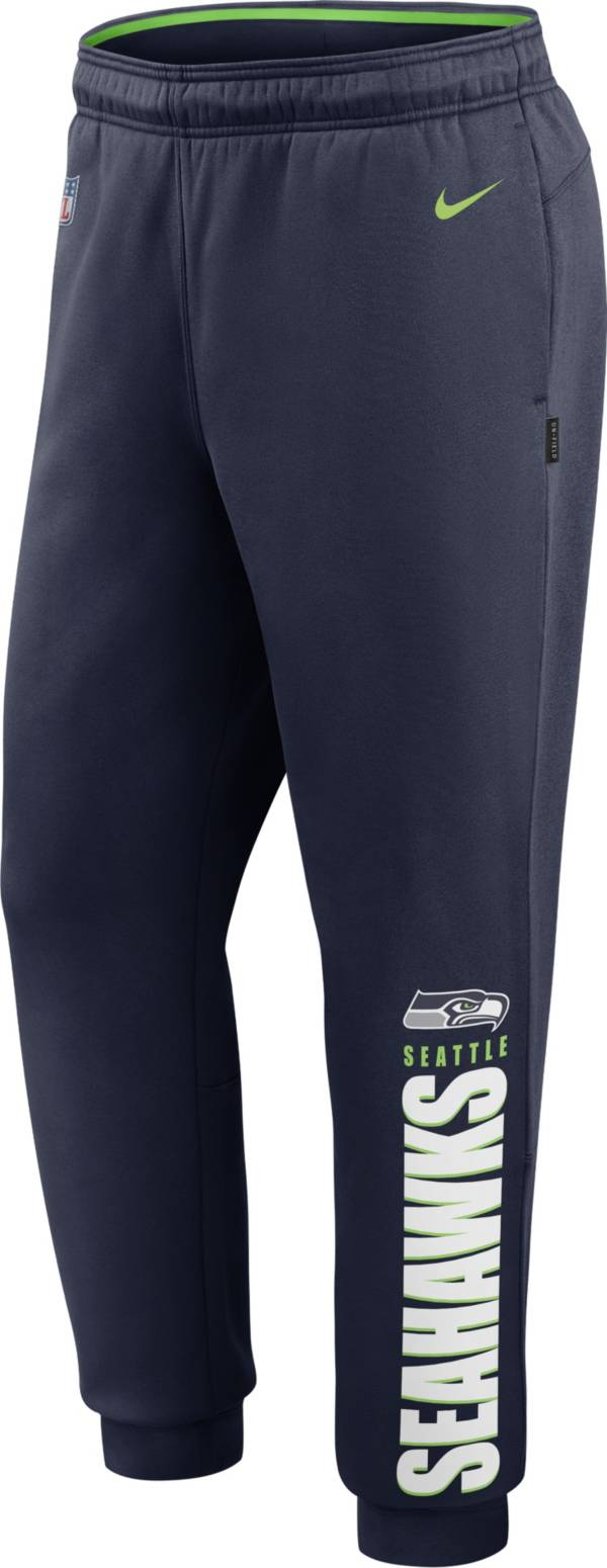 Nike Men's Seattle Seahawks Sideline Therma-FIT Performance Navy Pants product image