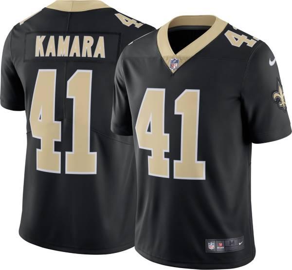 Nike Men's New Orleans Saints Alvin Kamara #41 Black Limited Jersey product image