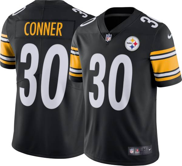 Nike Men's Pittsburgh Steelers James Conner #30 Home Black Limited Jersey product image
