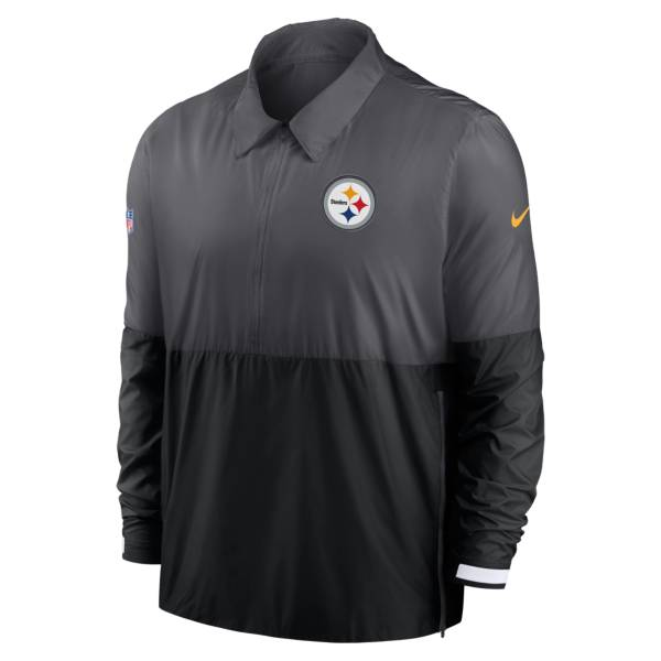 Nike Men's Pittsburgh Steelers Sideline Dri-Fit Coach Jacket product image