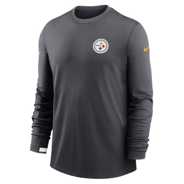 Nike Men's Pittsburgh Steelers Sideline Dri-Fit Long Sleeve T-Shirt product image