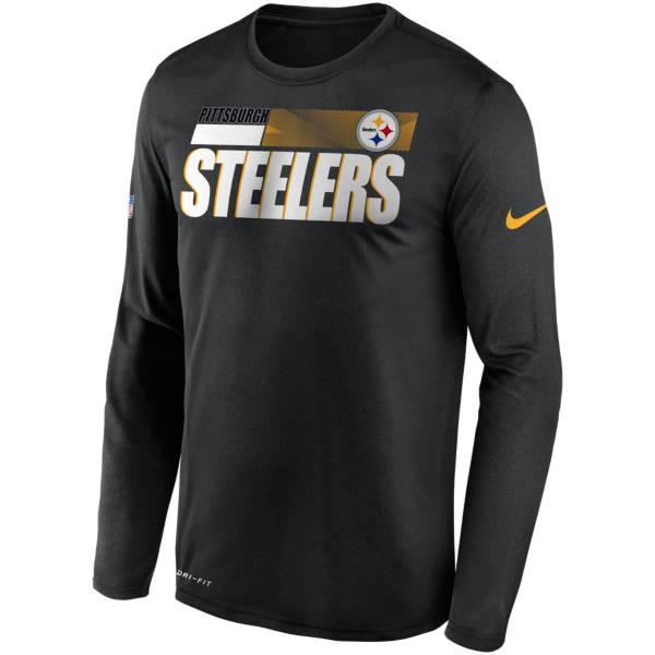 Nike Men's Pittsburgh Steelers Sideline Long Sleeve T-Shirt product image