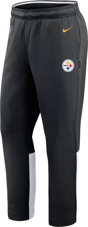 Nike Men's Pittsburgh Steelers Sideline Logo Black Woven Pants product image