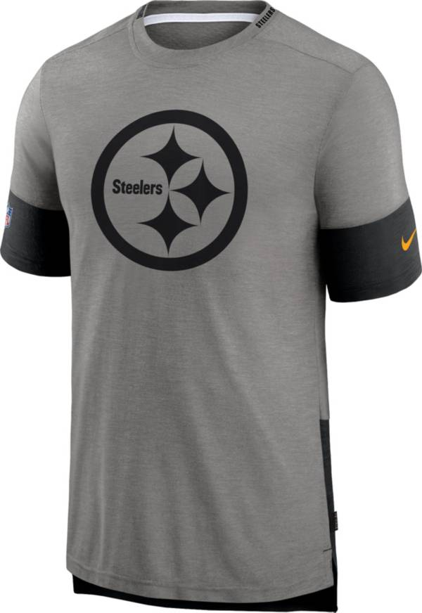 Nike Men's Pittsburgh Steelers Grey Sideline Player T-Shirt product image