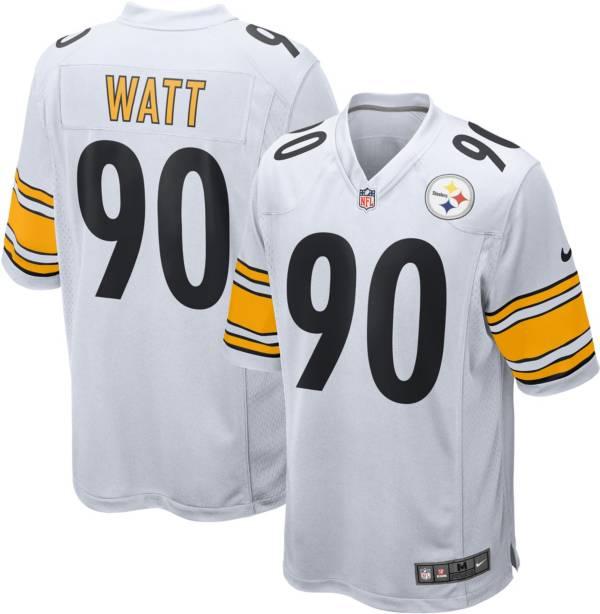 Nike Men's Pittsburgh Steelers T.J. Watt White Game Jersey product image
