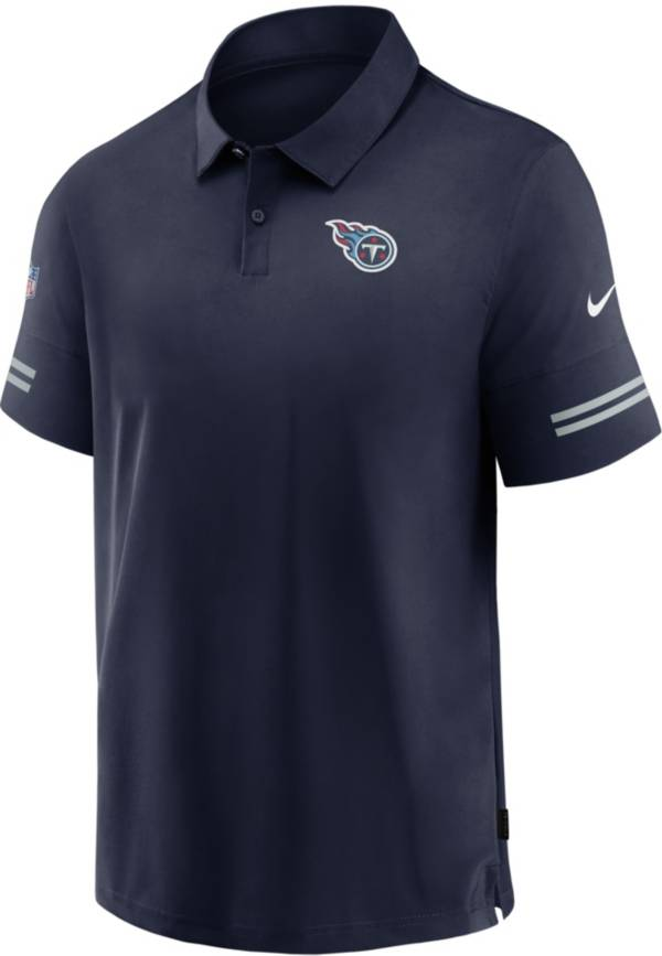 Nike Men's Tennessee Titans Coaches Sideline Navy Polo product image
