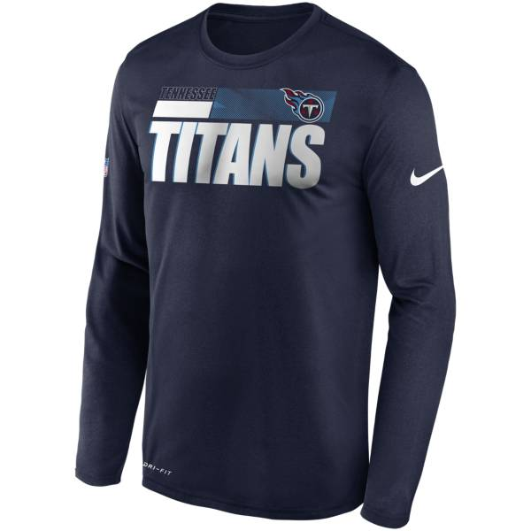 Nike Men's Tennessee Titans Sideline Coach Long-Sleeve T-Shirt product image