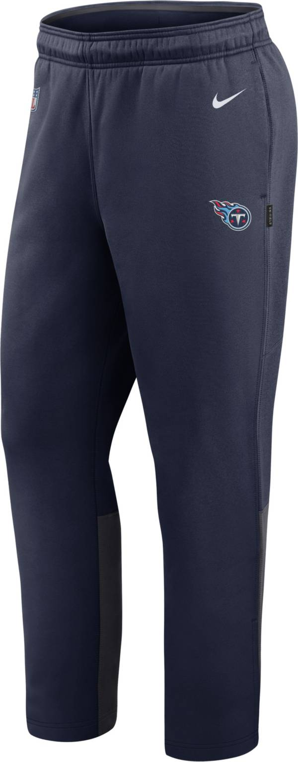 Nike Men's Tennessee Titans Sideline Logo Navy Woven Pants product image