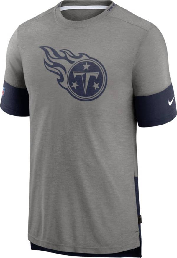 Nike Men's Tennessee Titans Grey Sideline Player T-Shirt product image
